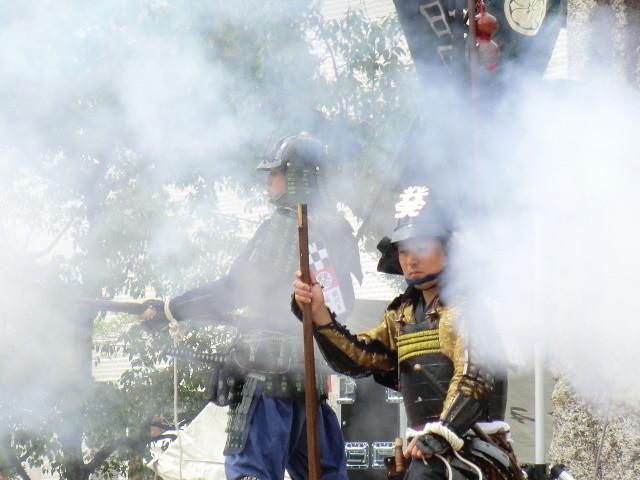 111002 安祥文化のさとまつり 火縄銃 11