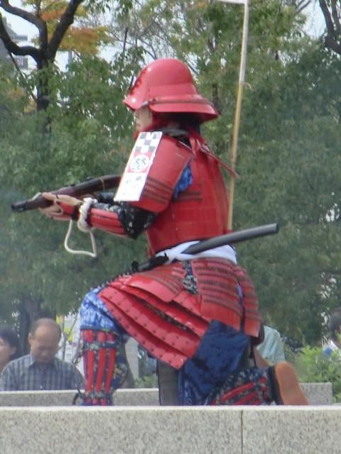 111002 安祥文化のさとまつり 火縄銃 14