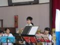111002 古井町内運動会 33 南小金管バンド演奏 02