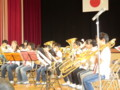 111002 古井町内運動会 35 南小金管バンド演奏 04