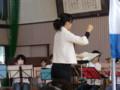 111002 古井町内運動会 40 南小金管バンド演奏 09