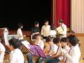 111002 古井町内運動会 42 南小金管バンド演奏 11