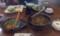 111023 11:32 亜遊 牛肉ラーメンランチと ひがわり ランチ