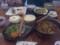 111023 11:32 亜遊 牛肉ラーメンランチと ひがわり ランチ (大)