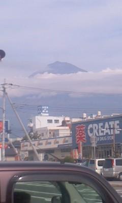 111105 12:30 富士宮で みた 富士山