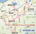 加賀温泉郷 地図 (あきひこ)