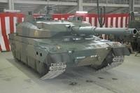 10式 戦車 (120111 静岡新聞)