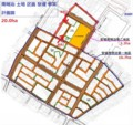南明治 土地 区画 整理 事業 計画図 (写真 さつえい 方向 いり)