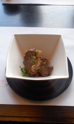 120401 13:24 宮崎牛の ステーキ