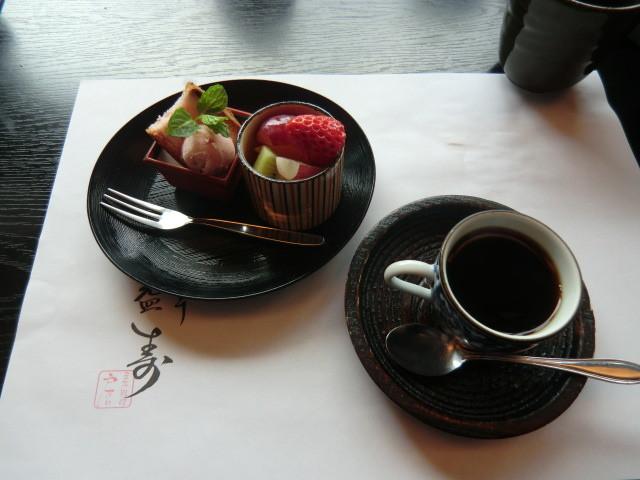 120401 戸たに (8) 14:15 デザートと コーヒー