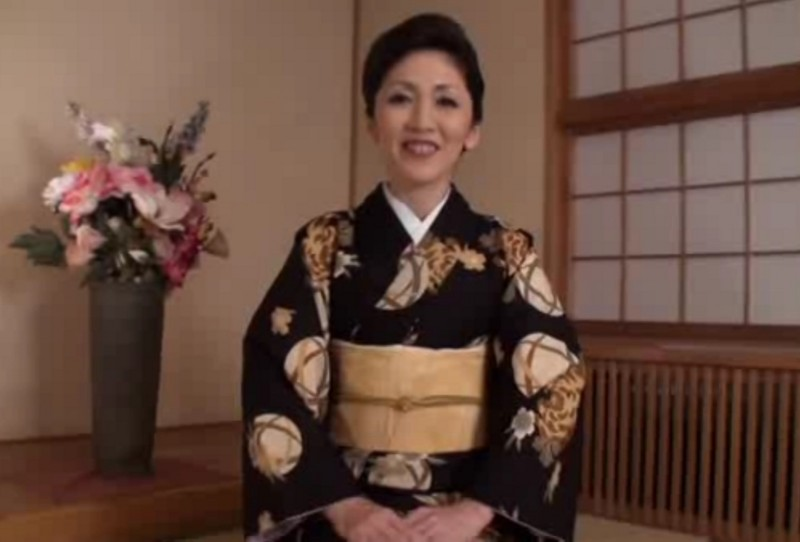 戸田志乃さん 和服