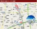 愛知大学 名古屋 キャンパス 位置図