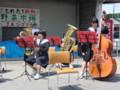 120527 古井町ふれあい広場 (5) 10:25 安祥中 吹奏楽部の 演奏