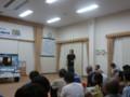 2012.9.1 上海自転車 - 防犯劇3人よれば (2) 斉藤優樹さん