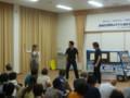2012.9.1 上海自転車 (9) 中野菜保子さん、斉藤偉さん、斉藤優樹さん