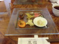 121007 亜遊 (2) 13:26 季節の 前菜 もりあわせ
