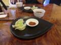 121007 亜遊 (4) 13:40 点心の 水餃子