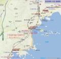 松島海岸 付近 路線図 (あきひこ)