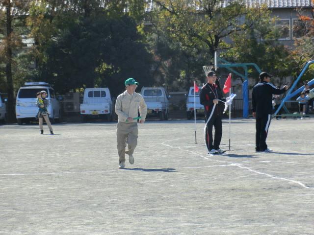 121110 古井町内運動会 (3) 11:29 各種 団体 リレー