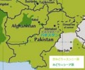 パキスタンの スンニー派 シーア派 分布図 (ウィキペディア)