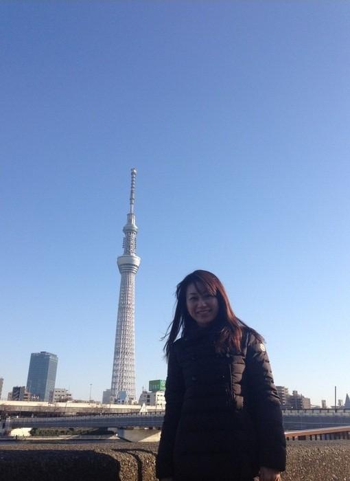 13-02-26 大隅智子さん 「美女と スカイツリー」