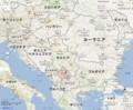 セルビアと コソボの 地図 (あきひこ)