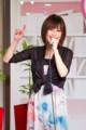西村絹代さん (フェースブック)
