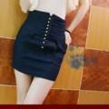 デニムのこんいろスカート (2)