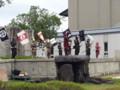 20131006 安城市歴史博物館 火縄銃 演武 スマホ (2) 11:10