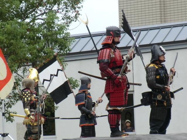 20131006 安城市歴史博物館 火縄銃 演武 デジカメ (4) 11:05