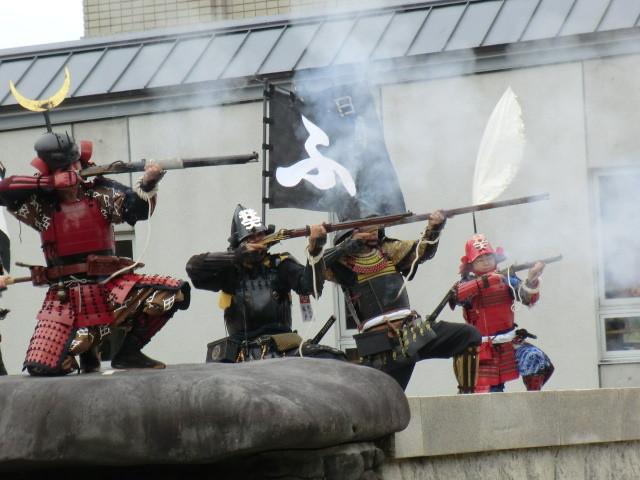 20131006 安城市歴史博物館 火縄銃 演武 デジカメ (11) 11:09