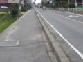 20131006 11:50 古井の 県道 安城桜井線 歩道