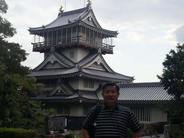 20131014 14:06 岩崎城 全景