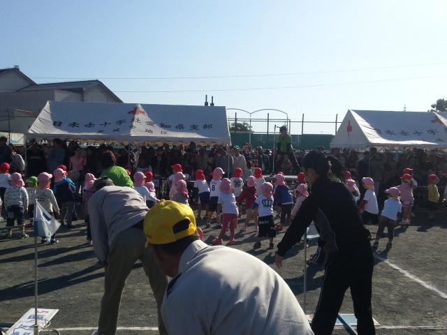 20131027 古井町内 運動会 09:09 なんきち たいそう