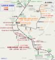 弘南鉄道 路線図 (あきひこ)