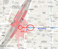 岡山 えきまえ 周辺 地図