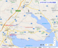 かすみがうら市の地図 (あきひこ)