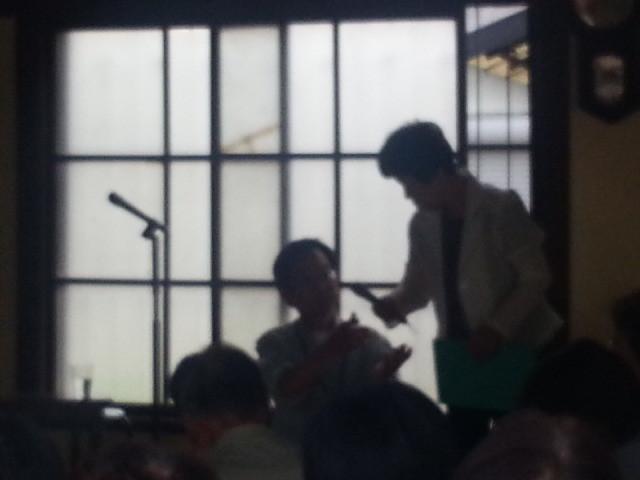 2014-05-18 14:07 どこでも朗読館 - 都築さんと沢田さん