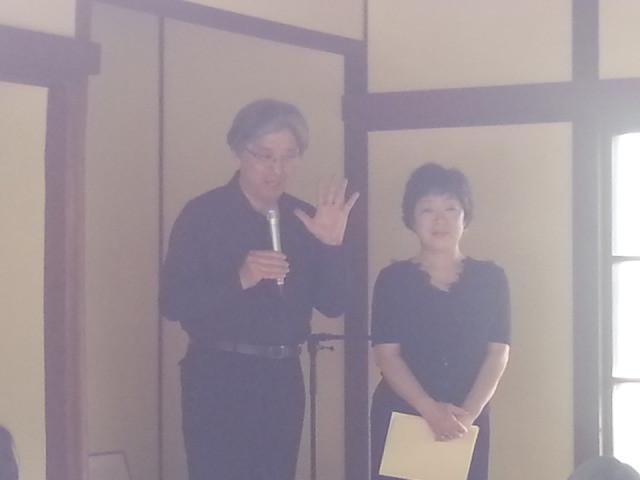2014-05-18 14:17 どこでも朗読館 - 松丸春生さんと西川小百合さん