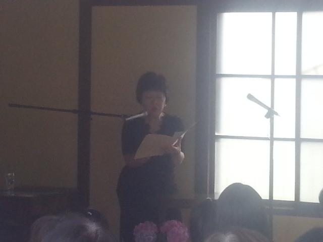 2014-05-18 14:21 どこでも朗読館 - 西川小百合さんの朗読