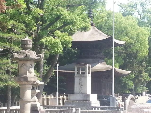 20140608 14:28 知立神社 - 多宝塔