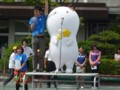 2014.6.26 安城西部小学校にきーぼー登場 (1)