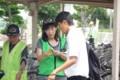 2014.7.18 明祥中 - 自転車安全利用キャンペーン (5)