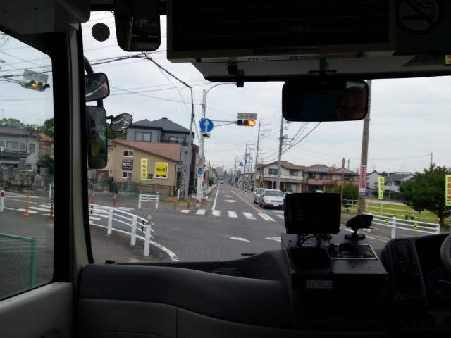 20140924 07.43.32 桜井線バス - 古井町交差点