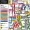 とさでん交通のバス路線図