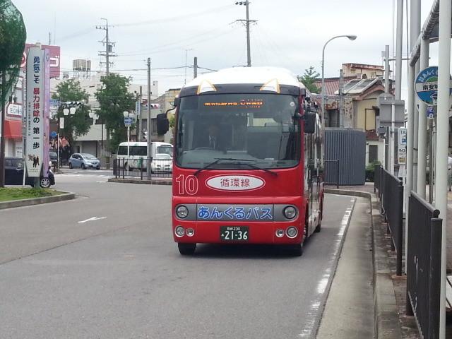 20140926 08.03.15 南安城駅 - 循環線バス