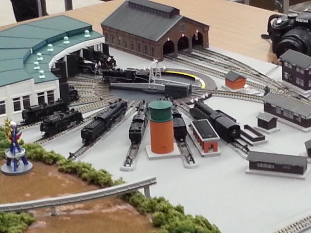 蒸気機関車の車庫