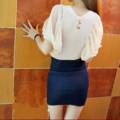デニムのこんいろスカート (1)