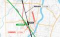 脇野田駅移設地図(上越市ホームページ)
