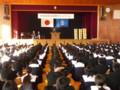 20141104 桜井中学校自転車安全利用キャンペーン (5)